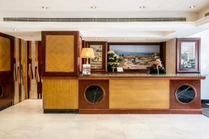 The lobby or reception area at Byblos Hotel
