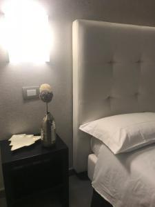 Letto o letti in una camera di Gemini Suite