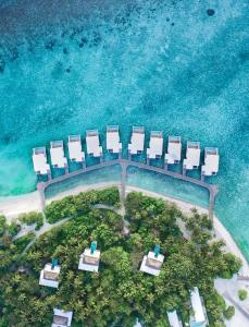 منظر Amilla Maldives Resort & Residences من الأعلى