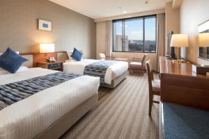 ホテル マイステイズ プレミア 成田にあるベッド