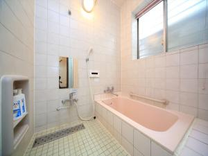 A bathroom at COTO Tokyo Shibuya