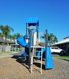 Children's play area at Lake Edge Resort