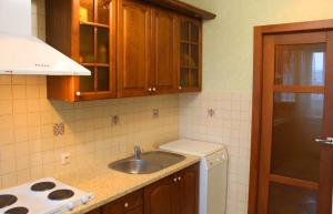A kitchen or kitchenette at Svetlana's Apartments, Center of Sumy
