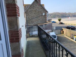 Balcon ou terrasse dans l'établissement La Maison Bellevue