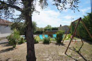 The swimming pool at or near Gite d'Anais
