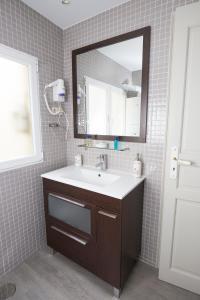 A bathroom at Hostal Central Palace Madrid