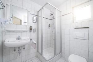 Ein Badezimmer in der Unterkunft Landgasthof Ochsen