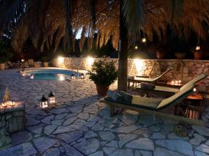 The swimming pool at or near Stavros Villa