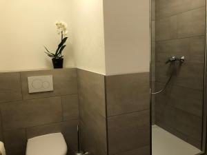 Ein Badezimmer in der Unterkunft Stella Apartments am Erfurter Dom