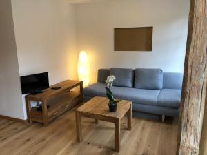 Ein Sitzbereich in der Unterkunft Stella Apartments am Erfurter Dom