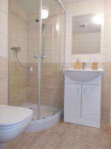 Salle de bains dans l'établissement Neklanova Apartments
