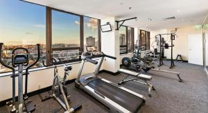The fitness center and/or fitness facilities at The Sydney Boulevard Hotel