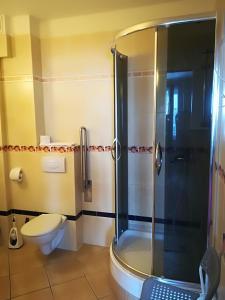 Ванная комната в Hotel E-lektor