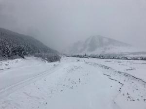 Мини отель Островок зимой