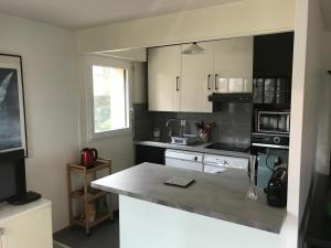 A kitchen or kitchenette at Appartement Residence Le Fairway