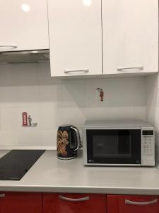 A kitchen or kitchenette at Apartment in Sea Simphony