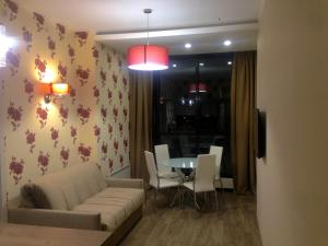Гостиная зона в Apart Hotel Pulkovo Meridian