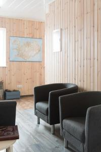 A seating area at Guesthouse Baegisa