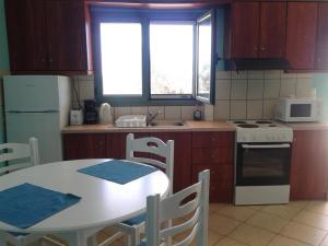 A kitchen or kitchenette at Vegera Apartments