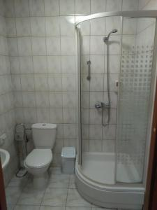 A bathroom at Pensjonat Iskra