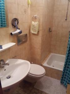 Ein Badezimmer in der Unterkunft Gästehaus Almbrünnerl