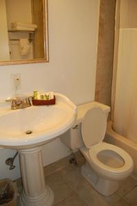 A bathroom at District Hotel