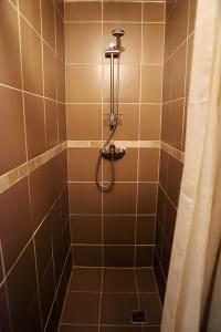 Kúpeľňa v ubytovaní Penzión Modrý Dom