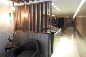 El vestíbulo o zona de recepción de Suites Havre