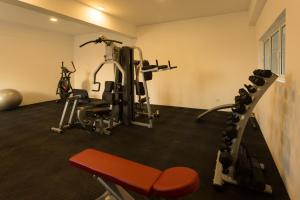 The fitness center and/or fitness facilities at Shalom Residence Nawala