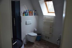A bathroom at LEKOMA Pension