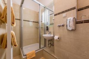 Ванная комната в Hotel Expo Frankfurt City Centre