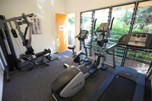 The fitness center and/or fitness facilities at Mobys Beachside Retreat