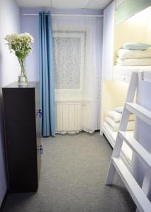 Двухъярусная кровать или двухъярусные кровати в номере Arbat 25 Capsule Hostel