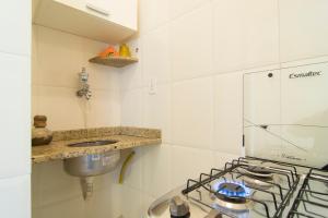 A bathroom at Flat General
