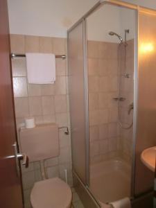 """Ein Badezimmer in der Unterkunft """"Donauhotel Neu-Ulm"""""""