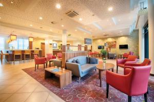 Lounge oder Bar in der Unterkunft Leonardo Hotel Dresden Altstadt