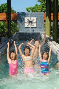 The swimming pool at or near March 3 B&B Yilan