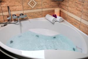 Ένα μπάνιο στο Anemonisia Deluxe Apartments