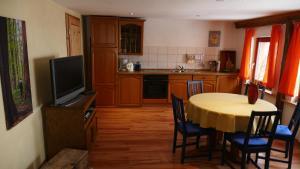 Küche/Küchenzeile in der Unterkunft Hainich-Zeit