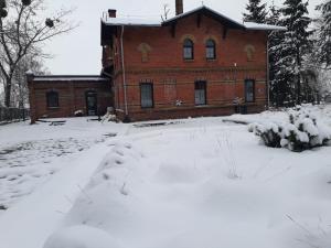 Obiekt Pokoje gościnne Winnica Celtica zimą