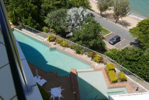 A view of the pool at Luxury Private Penthouse at Trinity Beach or nearby