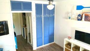 A bathroom at Kék vitorlás apartman