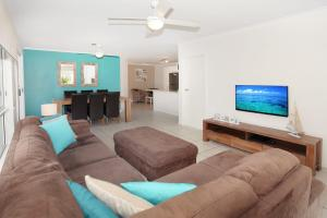 A seating area at 1/882 David Low Way Marcoola - 500 Bond, Linen included, pet friendly