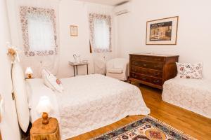 Een bed of bedden in een kamer bij Agriturismo Alba