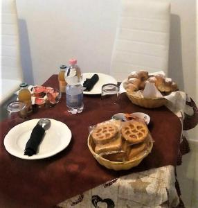 Colazione disponibile per gli ospiti di Hotel Caudullo