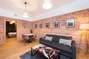 Area soggiorno di Na Skalce Astra Apartment