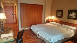 Cama o camas de una habitación en Parador de Vielha