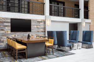A television and/or entertainment center at Embassy Suites Austin - Central