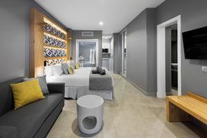 Zona de estar de Hotel Atlantic Mirage Suites & SPA