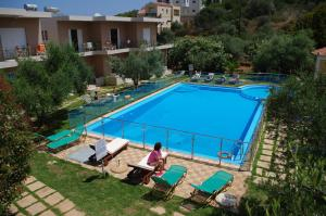 A view of the pool at Elea or nearby